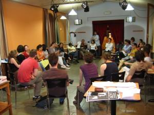 incontro del 18 maggio 2009 al C.R.C.  di Abano Terme